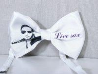 галстук-бабочка с принтом