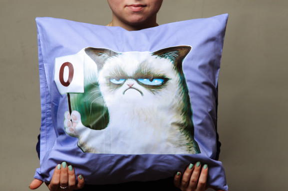 Печать фото на подушке